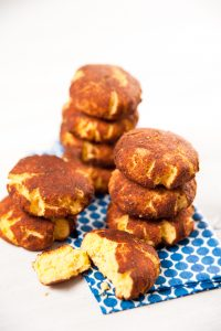 Paleo Style Gluten and Sugar Free Snickerdoodle Cookies with Cinnamon
