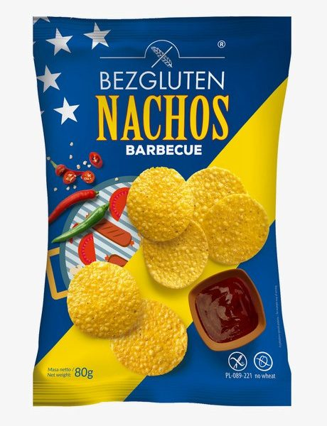 Nachos barbecue