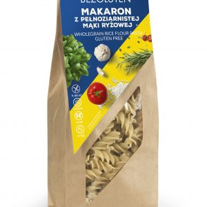 wholegrain rice flour pasta 250g